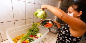 desinfectar alimentos con vinagre