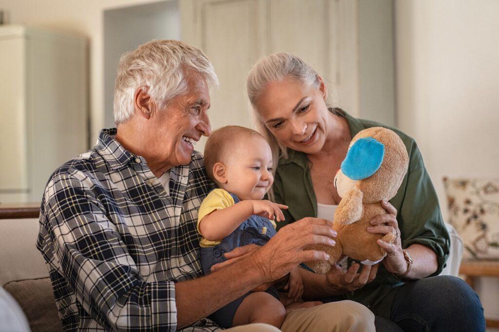 los abuelos y tus hijos